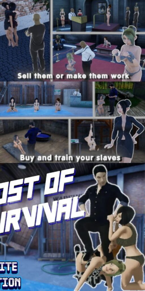 Cost of survival Porn Game Apk Download
