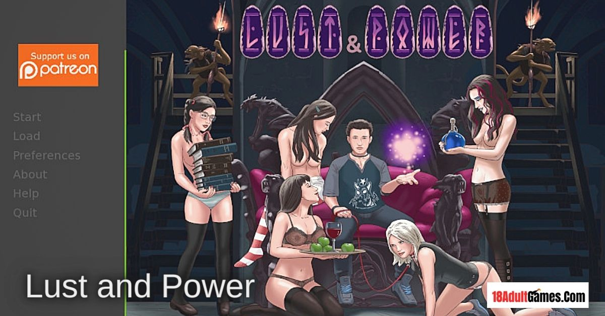 Lust and Power Adult Game Download
