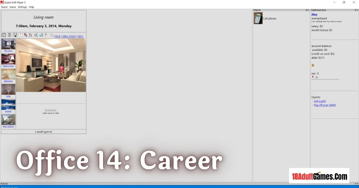Office 14 Career Adult Game Download