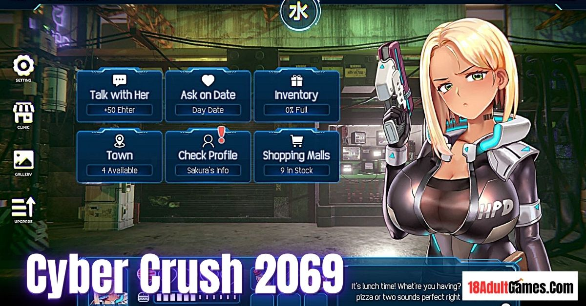 Cyber Crush 2069 Adult Game Download
