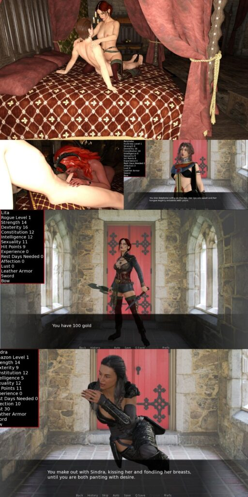 Damsels and Dungeons Porn Game Download